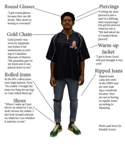 Casual fashion – junior Jon Manning discusses his style