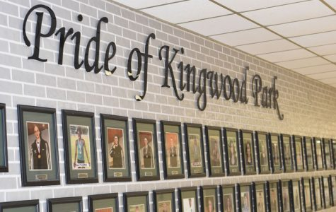 Fine arts teachers sneak prank photo onto K-Park's Pride of Kingwood Park wall
