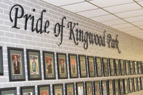 Fine arts teachers sneak prank photo onto K-Park's Pride of Kingwood Park wall