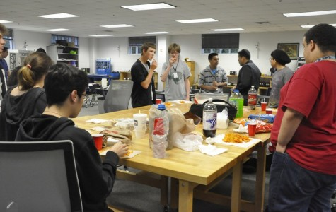 The Robotics club get together to form a bigger team, giving them a better chance to dominate at competitions.
