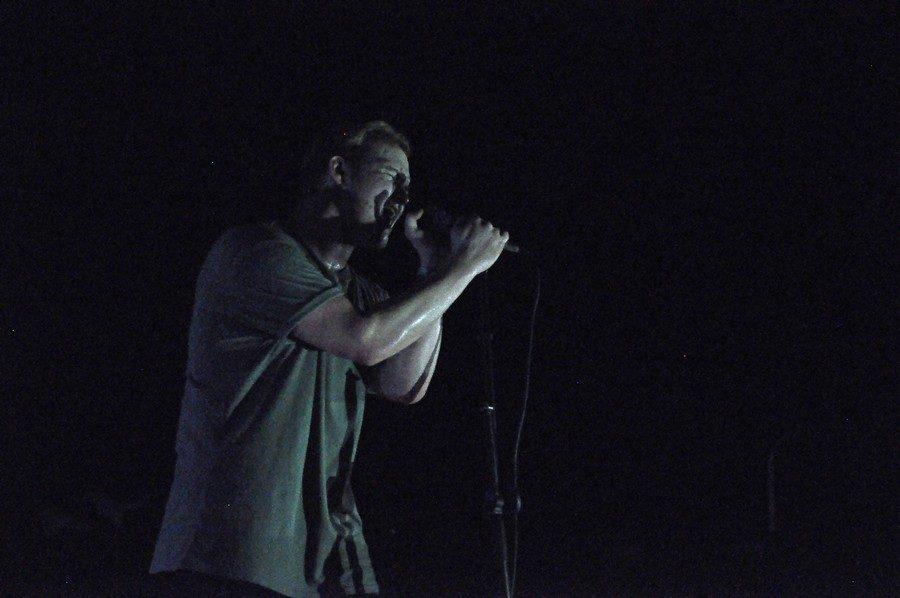 Trevor Daniel, a K-Park graduate, at the Lost in the Woods concert at Eastdown Warehouse, September 23.