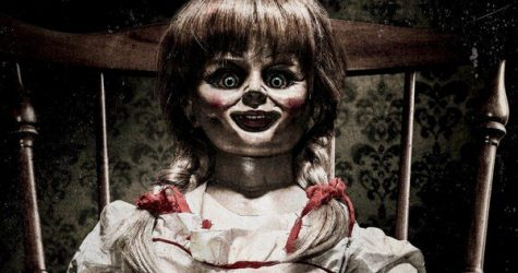 "An official promo image for ""Annabelle 2."""