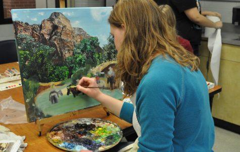 K-Park students create art for Houston Rodeo