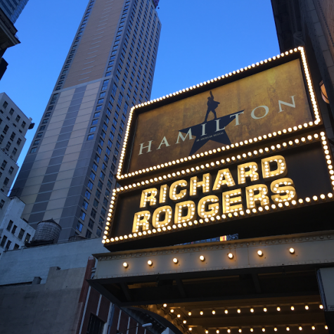 """Hamilton: An American Musical,"" sold out for months in advance, is breaking Broadway records."