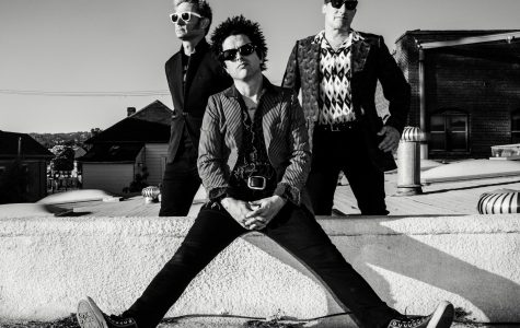 The three members of the band Green Day.