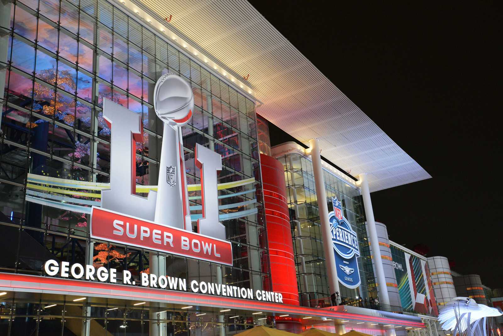"Super Bowl LI took place on February 5, 2017 at NRG Stadium in Houston, Texas. Photo courtesy ""texas.713"" on Flickr"