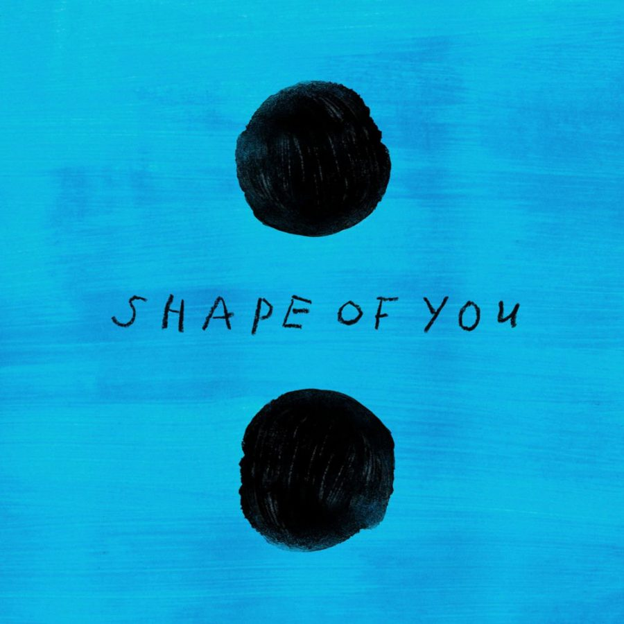 The promo image for Ed Sheeran's new single,