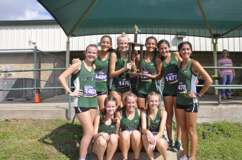 JV girls cross country places second at Brenham Hillacious meet