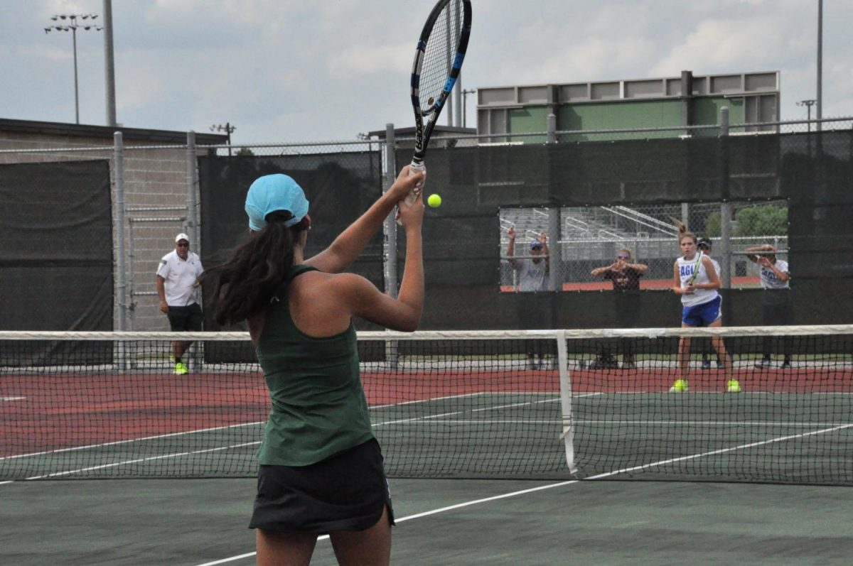 Tennis triumphs over Humble, Barbers Hill