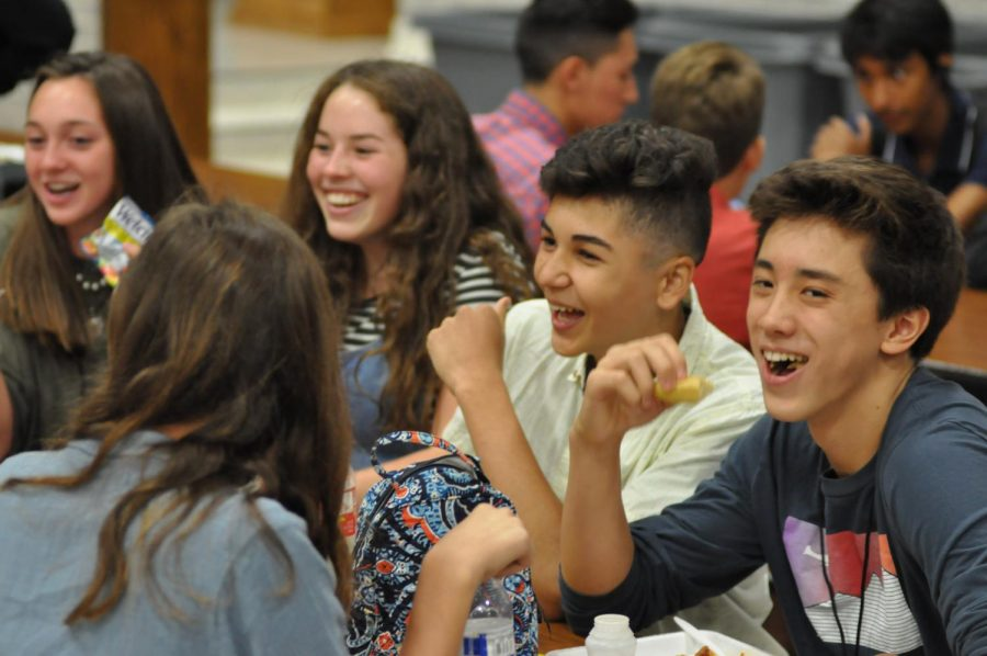 Students have spent the first three weeks split between three different lunch shifts. Starting on Sept. 10, they will be able to eat at the time they choose while also taking part in clubs and tutoring.