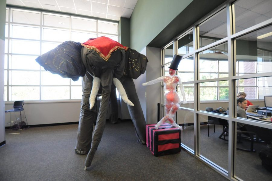 Class decorations put circus theme on full display