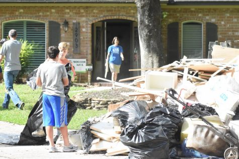 Students, staff adapt after flooding disrupts week