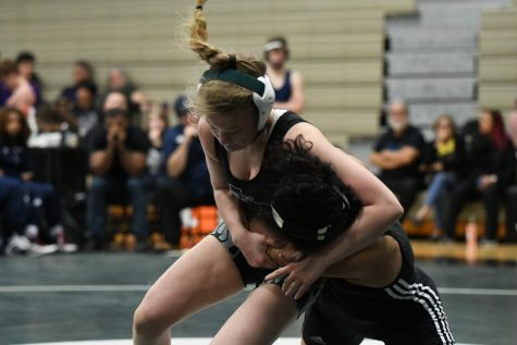 Junior Maddie Sandquist heads to Regionals in hopes of earning her third trip to the state championships. Sandquist earned her 100th victory this season.