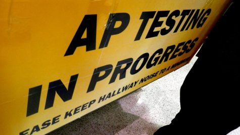 AP testing begins next week on campus.