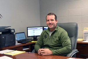 After 18 years in education, Wes Solomon has become principal of Kingwood Park. He is the third principal in the school's 15-year history.