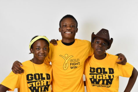Freshman Kashikala Mundemba and seniors Katina and Lulenga Mundemba are first-generation Americans. Their parents are from the Democratic Republic of Congo.
