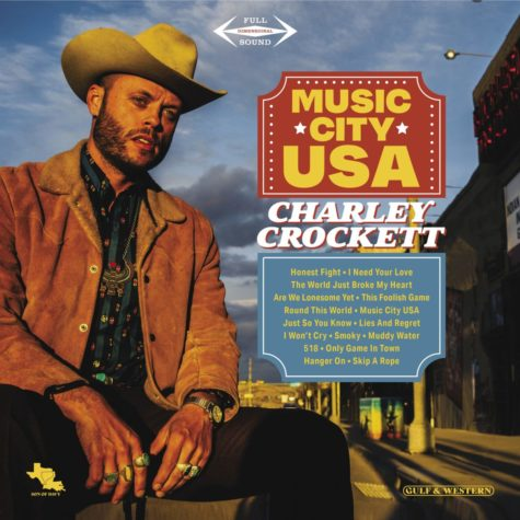 Cover art for Charley Crocketts newest album Music City USA.